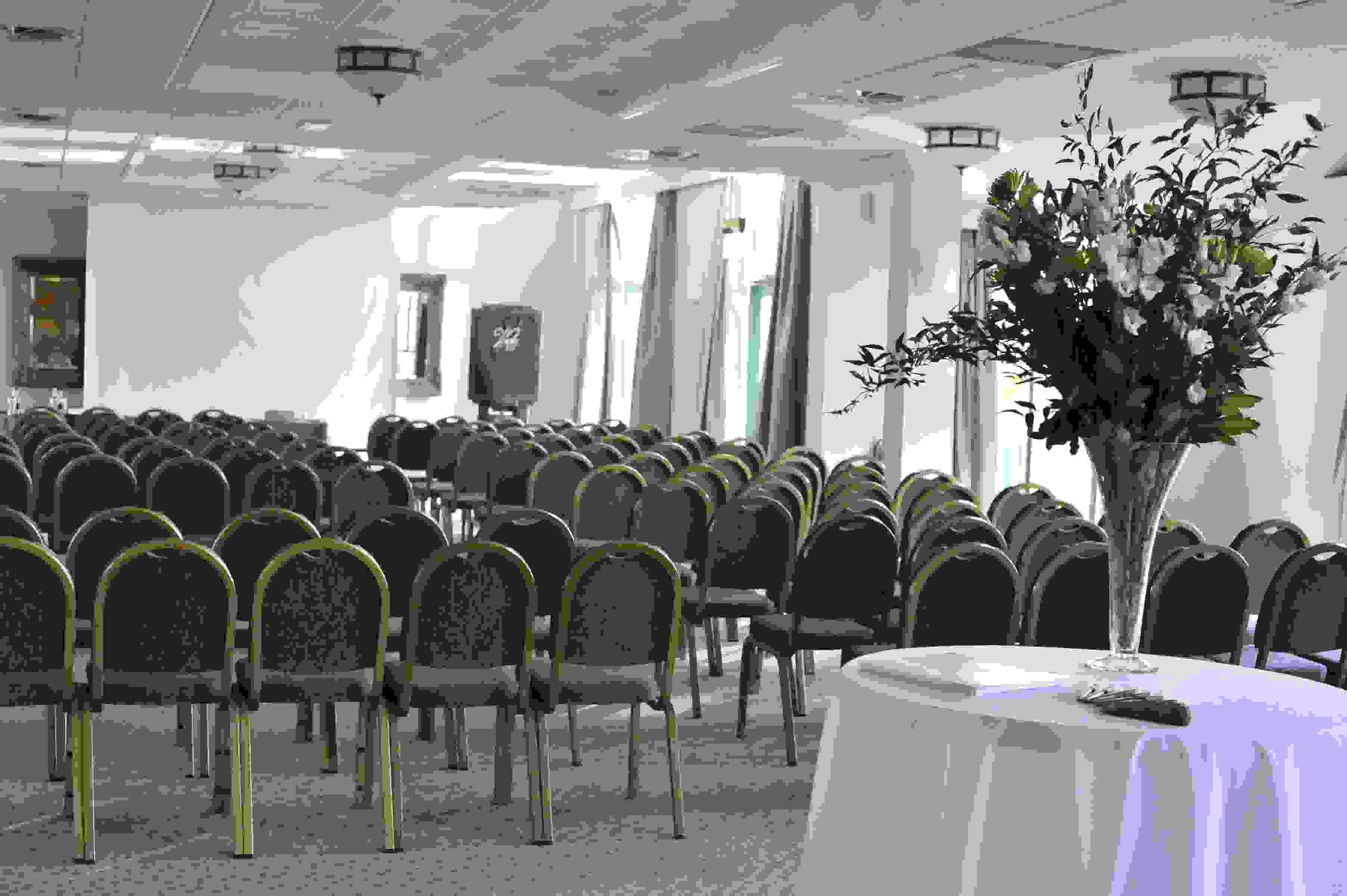 Presentation set up in Morgannwg Suite - Vale Resort