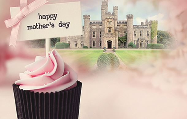 Mother's day cupcake and Hensol Castle